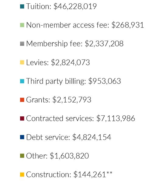 Revenues FY18 key3