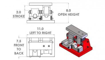 stairway pipe notcher