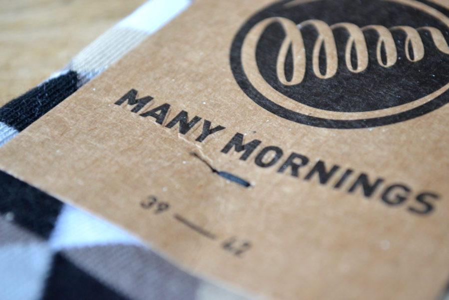Bunte Socken von Many Mornings