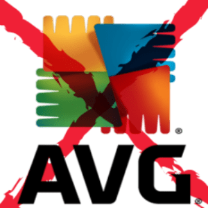 AVG logo x'd out