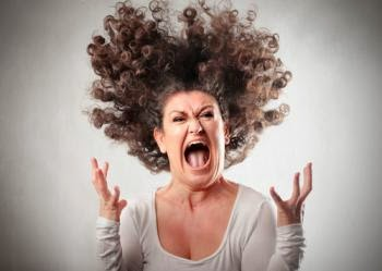 angry-woman flying hair