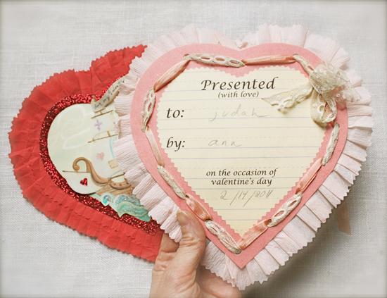 valentine back