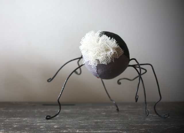 spider going