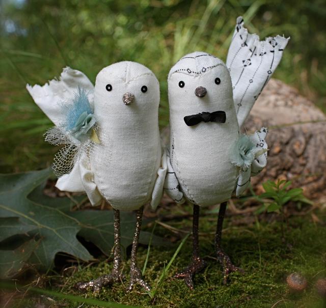 cake topper birds