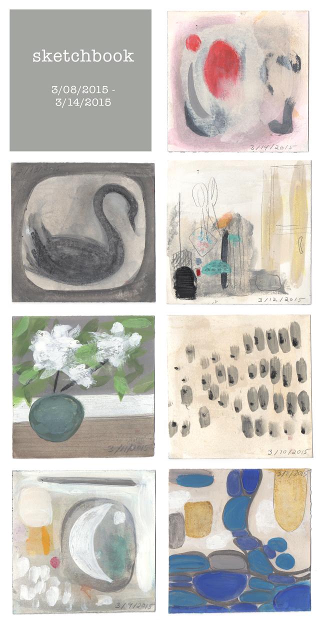 ann wood's daily sketchbook - week 4