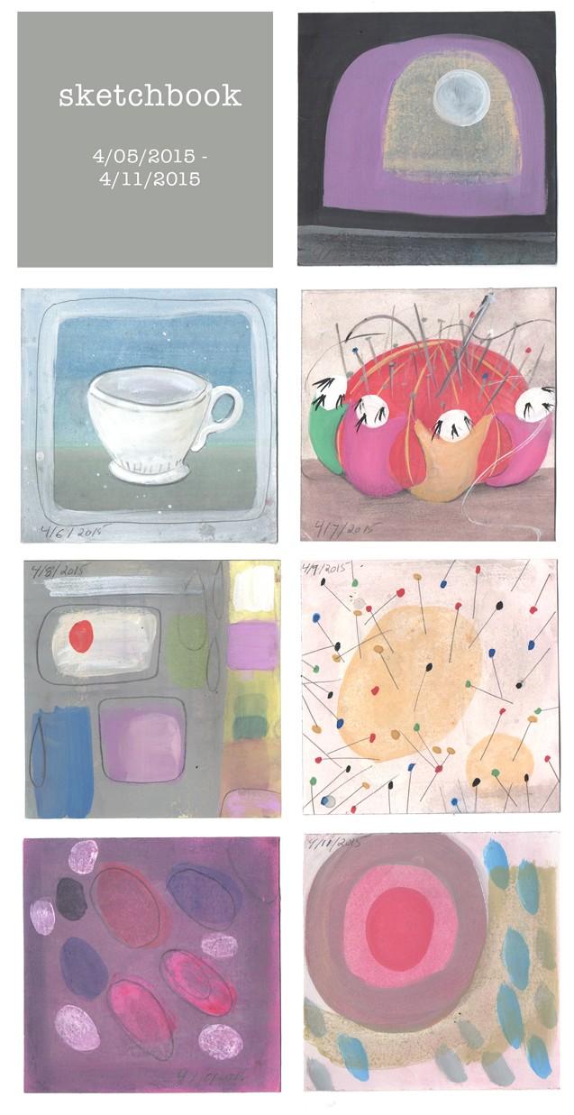 sketchbook week 8