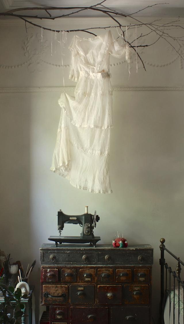 edwardian  gown : ann wood