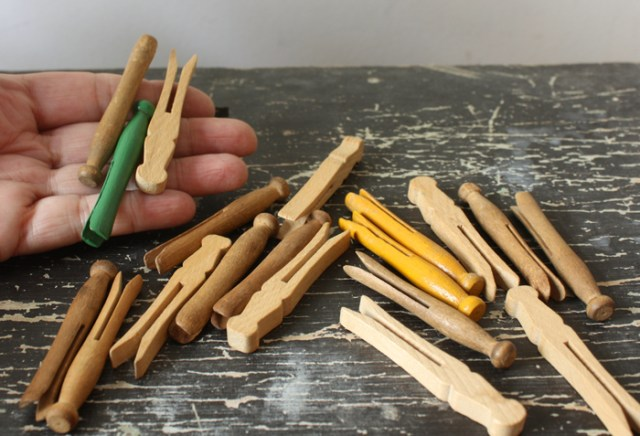 doll clothespins