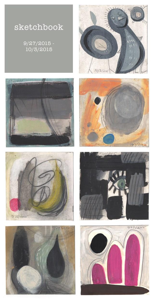 sketchbook : week 33