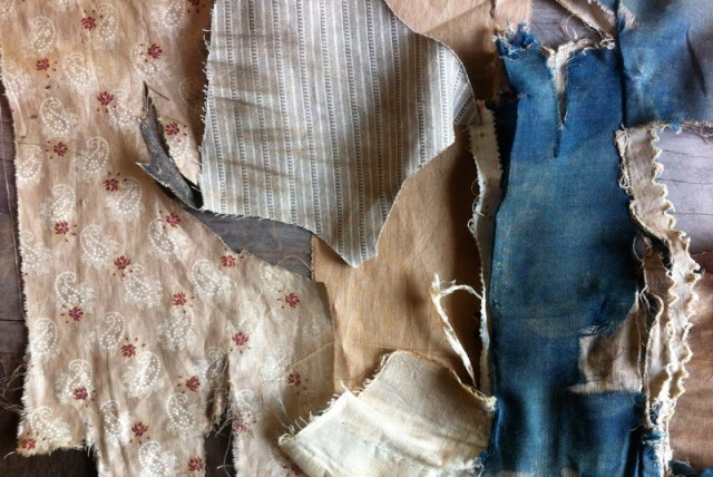 antique garment linings