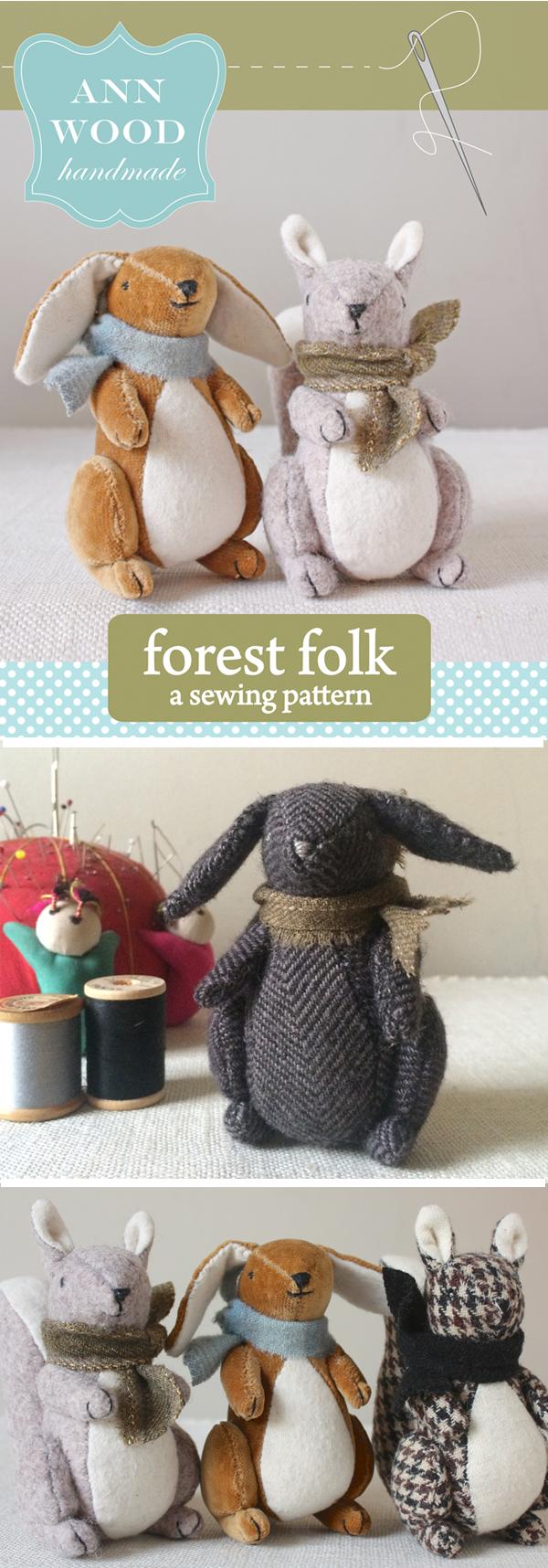forest folk sewing pattern
