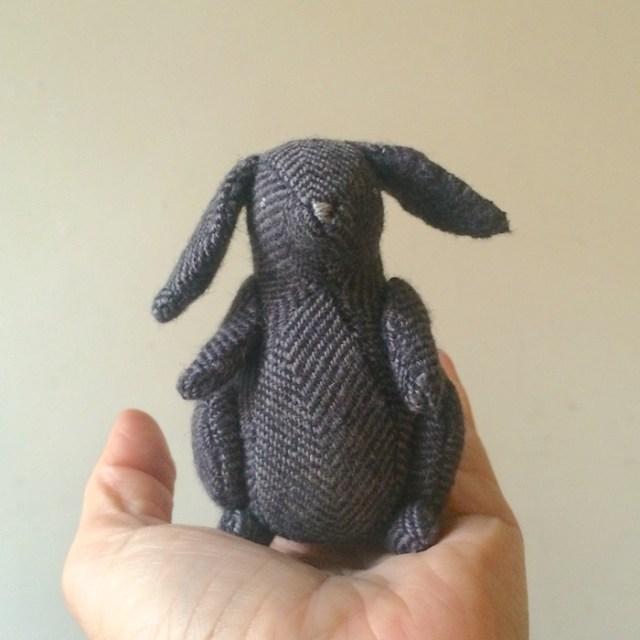 little woolen bunny