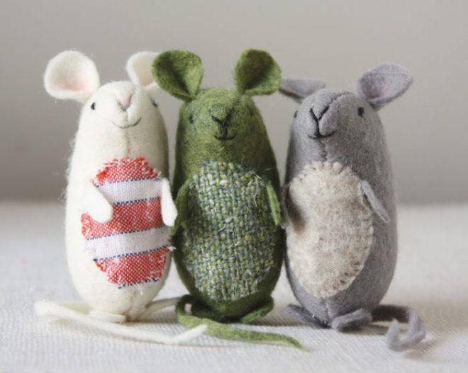 very nice mice : sewing pattern