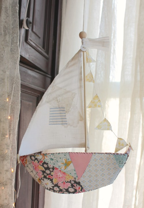 patchwork boat