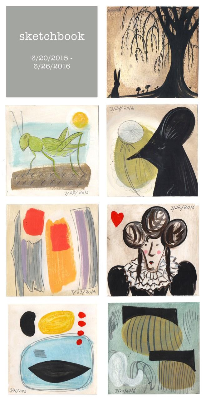 sketchbook : week 54