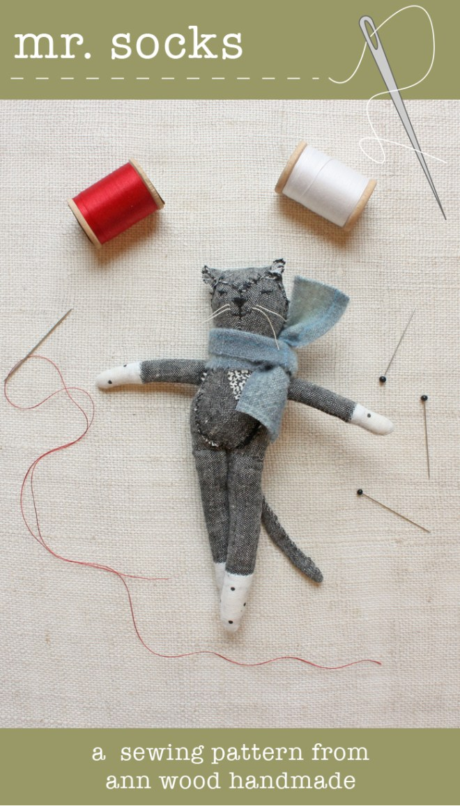 mr. socks sewing pattern