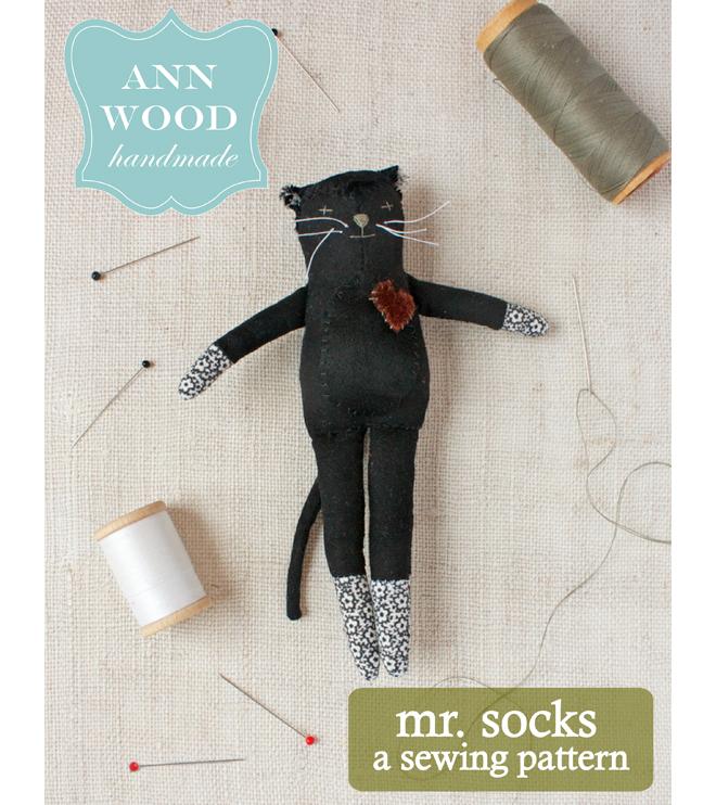 mr. socks : sewing pattern