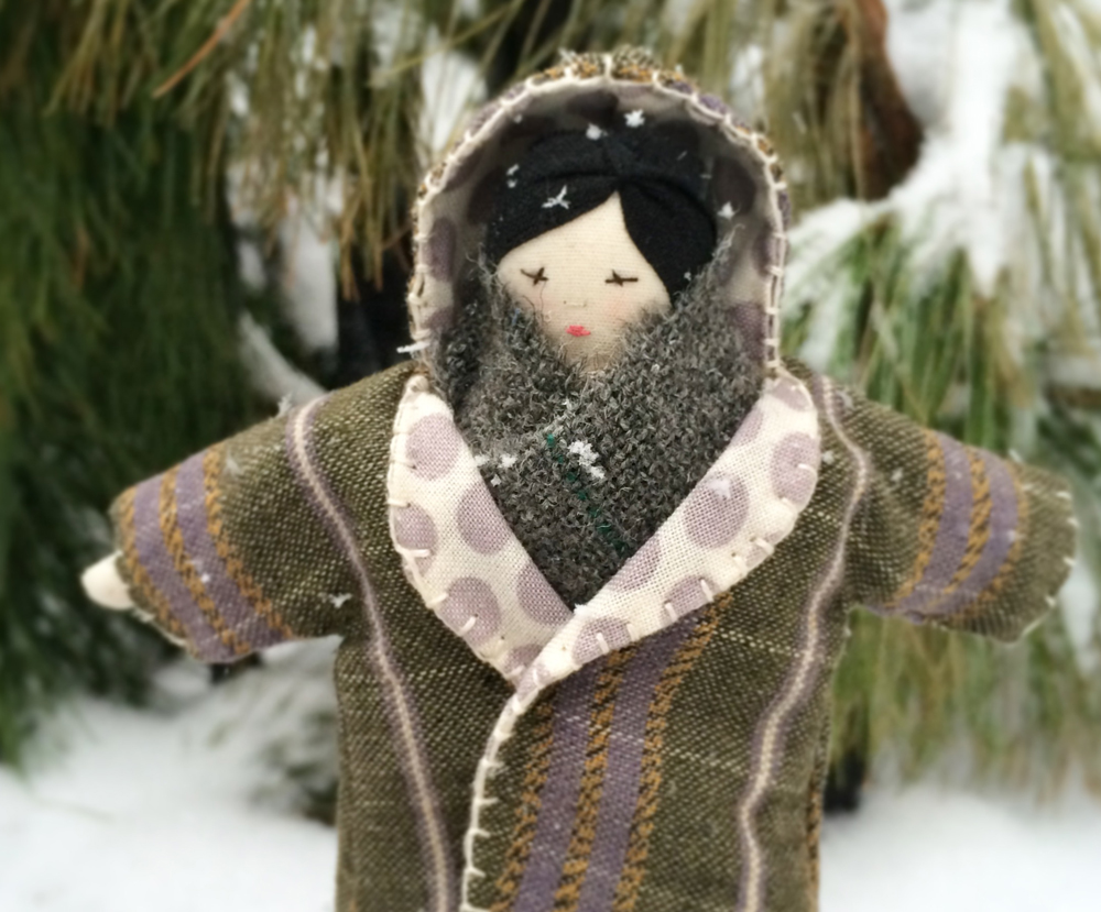 A Coat For Tiny Rag Doll And A Free Tiny Hat Tutorial Ann Wood Handmade How to play dear winter by ajr (piano tutorial / piano lesson) thanks for watching arranged and recorded by will mcmillan. tiny hat tutorial ann wood handmade