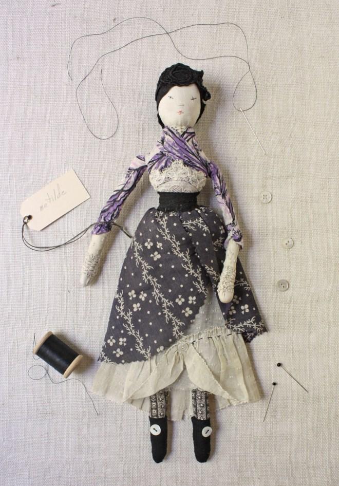 matilde : handmade doll