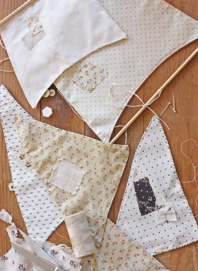 hand stitched sails