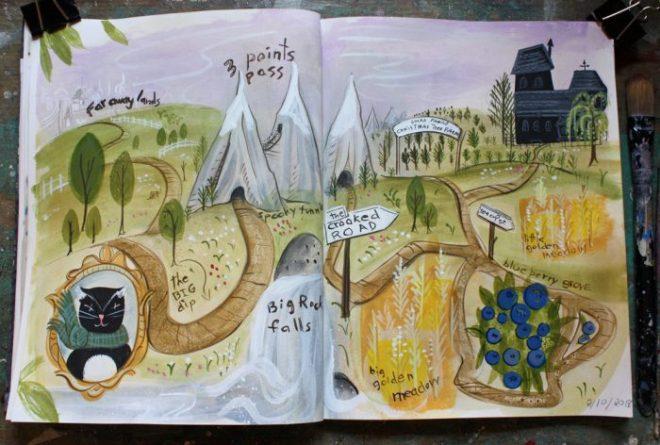 sketchbook : 2/6-10