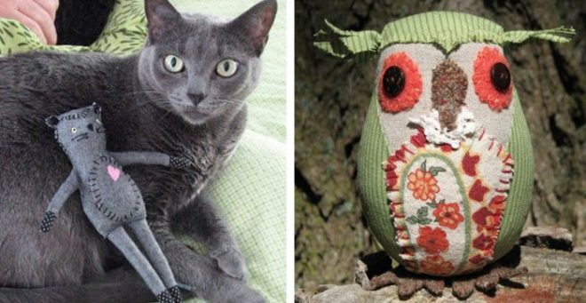mr. socks and a little owl