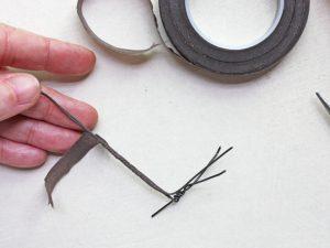 how to make a realistic bird leg - step 14