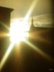 Sonnenlicht Karfreitag
