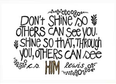 Dont shine so others web
