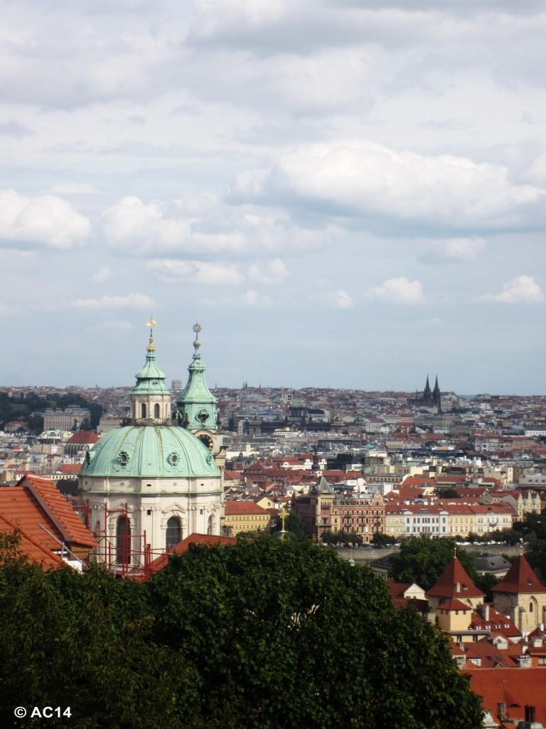 Aussicht über Prag 2