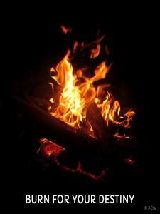 burn for your destiny