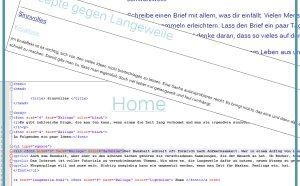 HTML aus Langeweile
