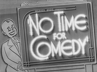 Image result for No Time for Comedy 1940