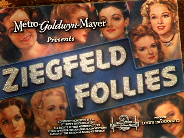 Image result for Ziegfeld Follies 1945