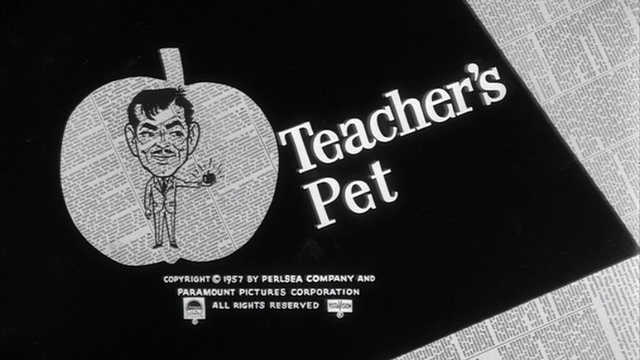 Image result for teacher's pet 1958 doris day and clark gable