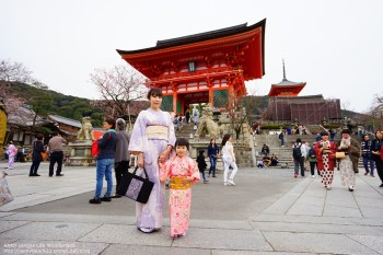 【京都和服推薦】純日製京美人 有親子和服 ♥ 拍照美.款式多.便宜.近清水寺