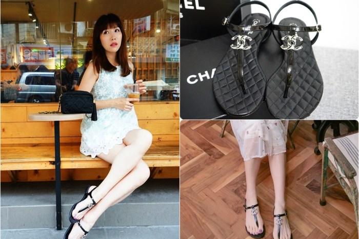 【精品】香奈兒涼鞋 Chanel 雙C logo涼鞋 ♥ 時尚經典 好看好搭