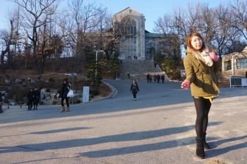【韓國】弘大 新村 梨大 散步/逛街路線分享 ♥ 梨大教堂好美(弘大入口站/新村站/梨大站)