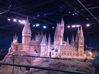 As a final treat, you enter into a large room displaying this magnificent replica of Hogwarts castle and grounds.