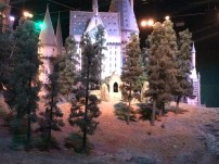 Here's a back view as well, with Hagrid's hut just visible there behind the trees. Man, what a magical adventure this tour was!
