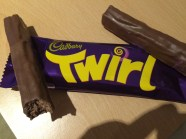 This was similar to the Wispa bar, only a LOT richer. Definitely had to wash down with some milk!