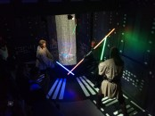 The only Star Wars pic I could get. Obi-Wan Kenobi and Qui-Gon Ginn fighting Darth Maul.