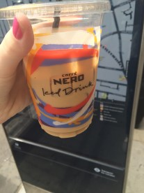 One of the only iced coffees I've found in this City.
