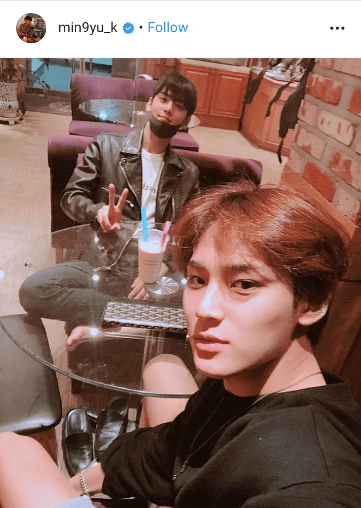 Jungkook, Yugyeom, Mingyu and Cha Eunwoo spend some time