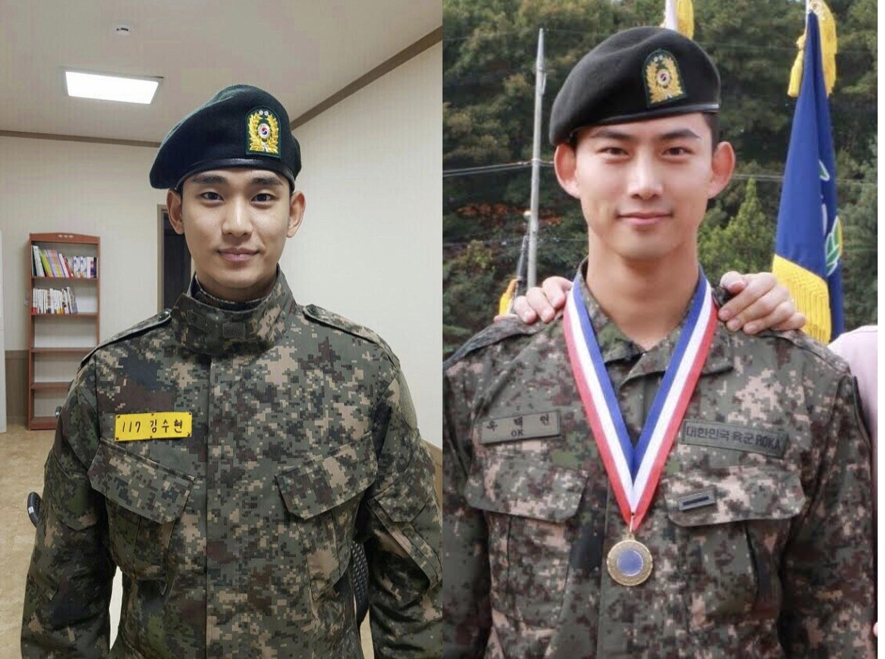 Ok taecyeon military