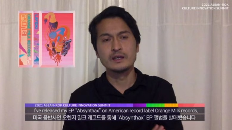 Saphy Vong from Vietnam at the ASEAN-ROK Culture Innovation Summit
