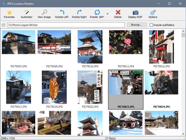 JPEG Lossless Rotator – (Windows Apps) — AppAgg