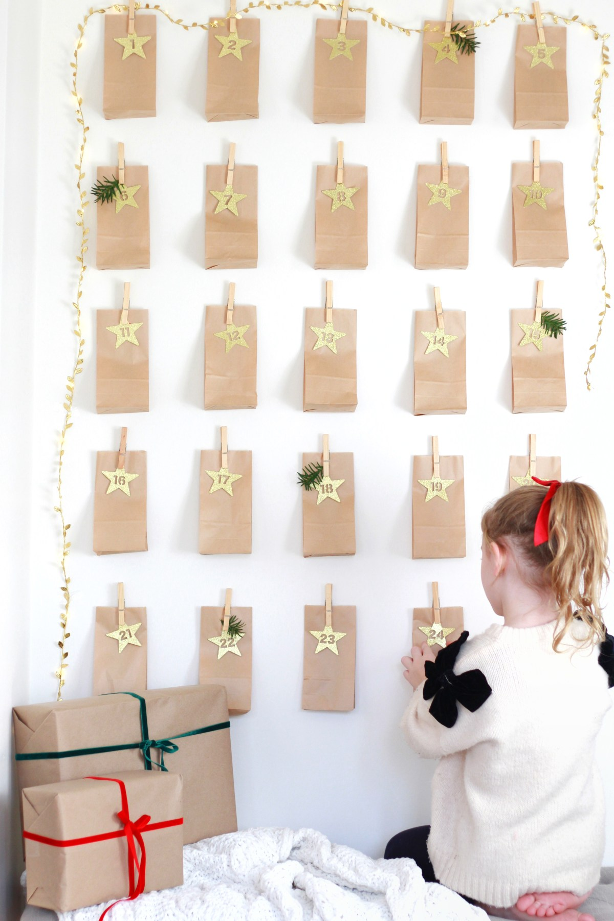 A family advent calendar DIY and a free printable