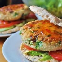 Vegan Burger Series: Episode Four - Butter Bean Kale Burger - Vegan MoFo