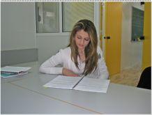 Μελετώντας πριν την Εξέταση.